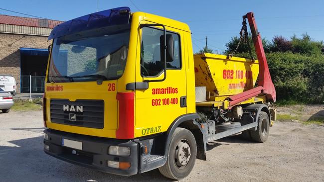 Transporte de de contenedores en Gijón