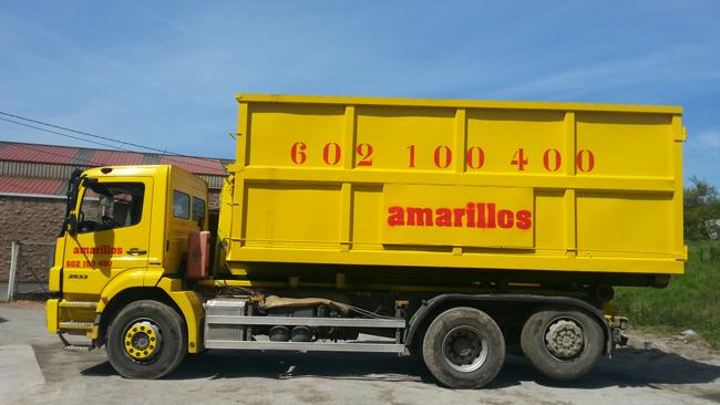 Transporte de de contenedores en Avilés