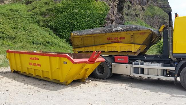Todo tipo de contenedores para escombros y residuos
