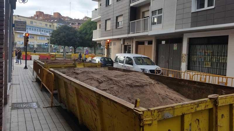 Contenedores para escombro en Asturias