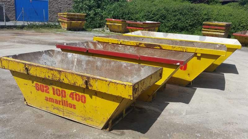 Alquiler de contenedores para escombro